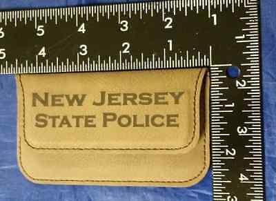 Njsp new jersey state police 45 dark brown leather business card 7 of 8 njsp new jersey state police 45 dark brown leather business card holder reheart Choice Image