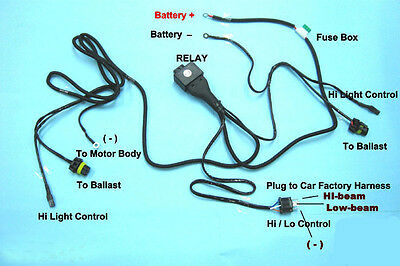 Hi Lo Hid 9007 Wiring Harness - Wiring Diagram K8 H Xenon Hid Headlight Wiring Diagram on