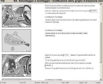 Bmw TIS 2007 raccolta manuali officina per Bmw e Mini. In Italiano!