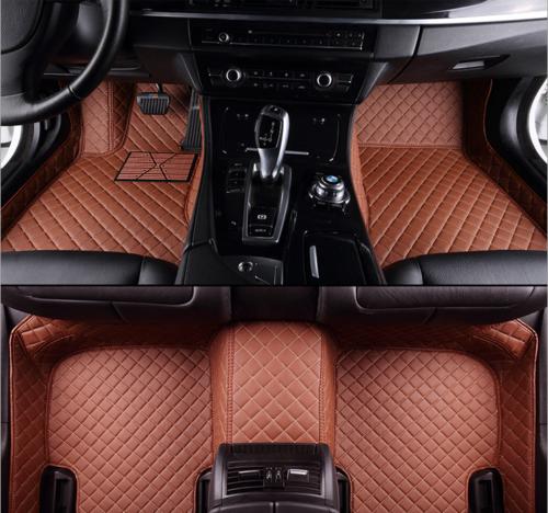 Bj. 2006-2015 Bj. 2015-2018 /&4M Auto-Fußmatten nach Maß für Audi Q7 4L