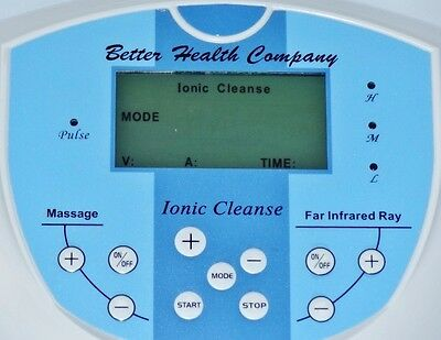Ionic Cleanse Foot Detox Spa System, Upgraded, Safer to Use with no wrist straps