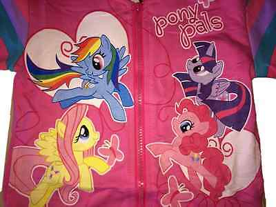 New My Little Pony Hoodie PINK  2,3,4,5,6,7 YEARS JACKET Rainbow Dash twighlight 3