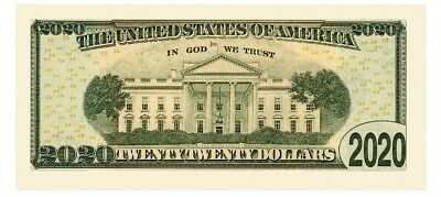 Melania Trump 2020 Dollar Bill Presidential MAGA Novelty Funny Money with Holder 3