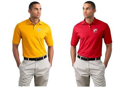 10 Polo Shirts Custom Embroidered Free Logo Business Sports Golf