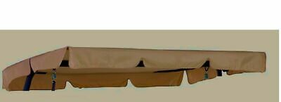 Ersatzdach Hollywoodschaukel Dach Schaukeldach 190 x 132 cm Passt für kettler