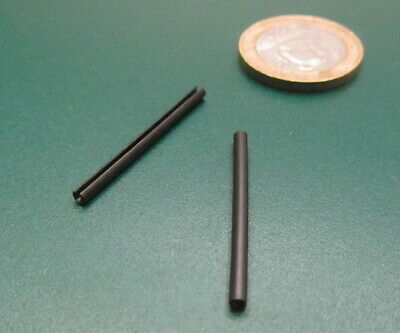 Steel Metric Slotted Spring Pin, M2 Dia x 30 mm Length, 100 pcs 2