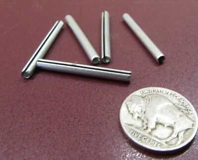 """Zinc Plate Steel Slotted Roll Spring Pin, 1/8"""" Dia x 1 1/4"""" Length, 200 pcs 9"""