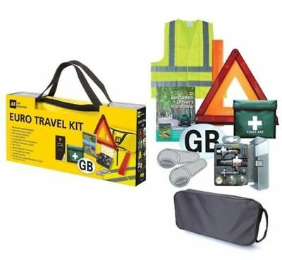 AA Euro Travel Kit Pack European Driving Legal Requirements France Spain Germany 3