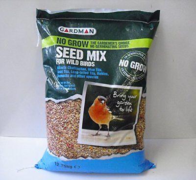 Gardman No Grow Wild Bird Feed Seed Mix - 12.75kg 2