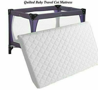 Thick Baby Travel Cot Mattress 100 x 70cm To fit Mother care / Argos Bed 6