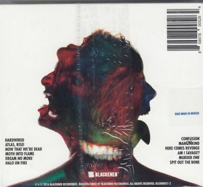 Metallica * Hardwired...To Self Destruct [Digipak] (CD, Nov-2016, 2 Discs) NEW 2