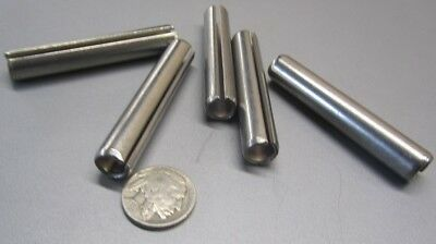 "420 Stainless Steel, Slotted Roll Spring Pin, 7/16"" Dia x 2 1/2"" Length, 5 pcs 7"