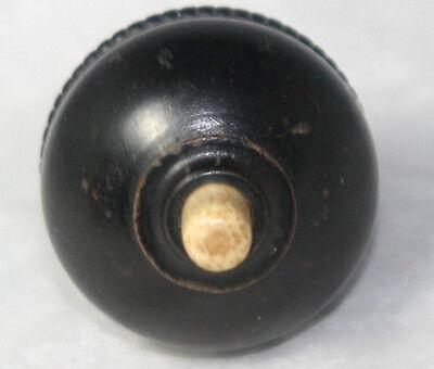 Original ANTIQUE c1900~~Edwardian DARK HAND CARVED SEVANTS BELL SWITCH~~ 3