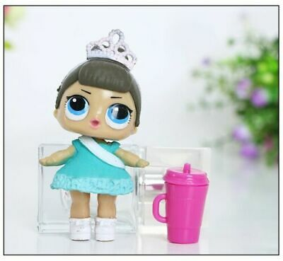 6 Pcs LOL Surprise Girls Dolls w/Accessory For Kids Party Toys Figures Gift Set 4