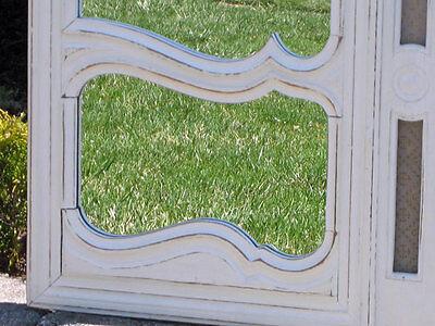 antique FARM SHABBY MIRROR ed CUPBOARD DOOR 4