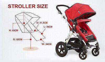 New 2 In 1 Baby Toddler Pram Stroller Jogger Aluminium With Bassinet 5 Colors 6