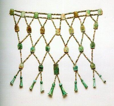 Jewels Ancient Nubia Kush Kerma Egypt Upper Nile Gold Faience Gemstone Amulets
