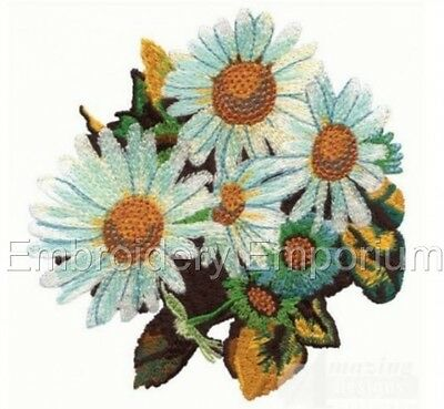 FLOWER ARRANGEMENT COLLECTION MACHINE EMBROIDERY DESIGNS ON CD OR USB