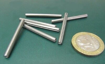 """420 Stainless Steel, Slotted Roll Spring Pin, 1/8"""" Dia x 1 1/2"""" Length, 100 pcs 11"""