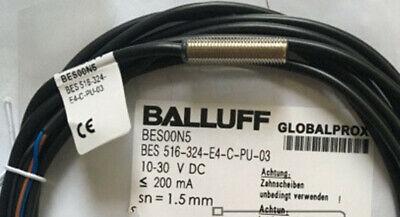 NEW Balluff BES 516 324-E4-C-PU-03 Proximity Inductive Sensor 1PC