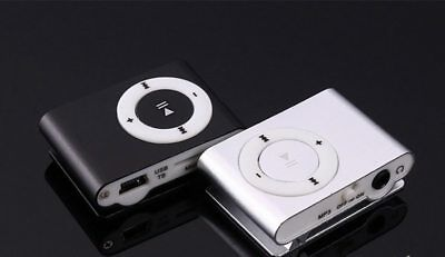 Mini USB Clip Sport MP3 Player Walkman Support Up To 64GB Micro SD Memory Card 10