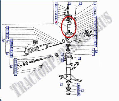 Belarus tractor steering shaft 400/420AS/420AN/425/T42LB 3