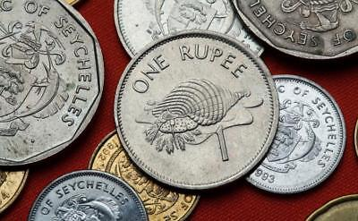 0.01 TO 5 RUPEES SEYCHELLES 6 PIECE COIN SET