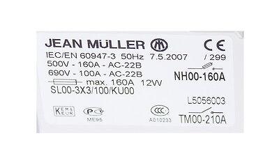 Jean Müller Sl00-3X3/100/ku00 New