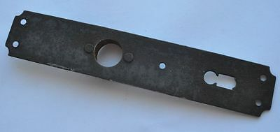 1890s Imperial Russia Antique Iron Large Size Door Key Hole Cover 2