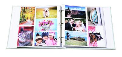 Brand Large Slip In Photo Album Holds 500 Photos 6x4''