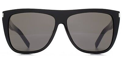 f93236c1fd2a ... Saint Laurent SL 1 black/smoke crystal lens (002 A) Sunglasses 2
