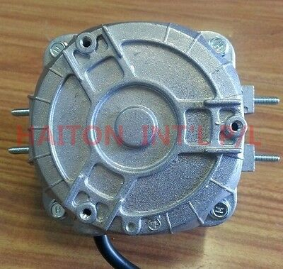 Heavy Duty Square Fan Motor 18W sleeve bearing dual mounting distance18/26mm