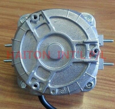 Heavy Duty Square Fan Motor 16W sleeve bearing dual mounting distance18/26mm 4