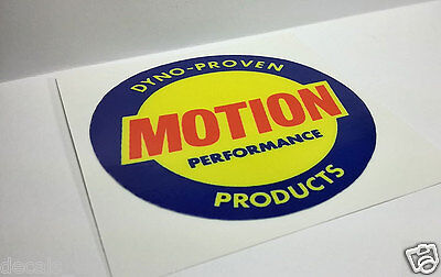 Vinyl STICKERS Pair of BALDWIN MOTION PERFORMANCE Vintage Style DECALS