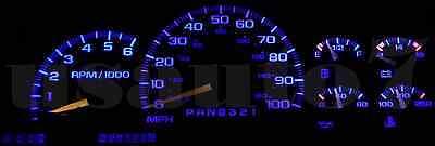 Dash Cluster Gauges AQUA BLUE LED LIGHTS KIT Fits 81-93 Dodge Ram D100 D150 D250