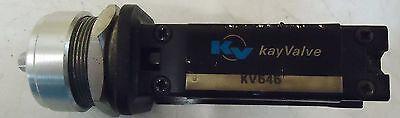 Kay Valve Model# Kv646 Kv Ltd Milton Keynes Mkii 3Ha England P. Max 8 Bar 3