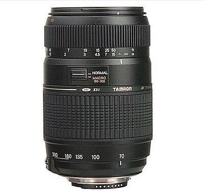 TAMRON AF 70-300mm Zoom Lens for Canon EOS Rebel T7 4000D 3000D 1500D 80D 750D 3
