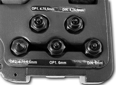 Mobiles hydraulisches Bördelgerät Bremsleitungen Bremsleitungsbördelgerät