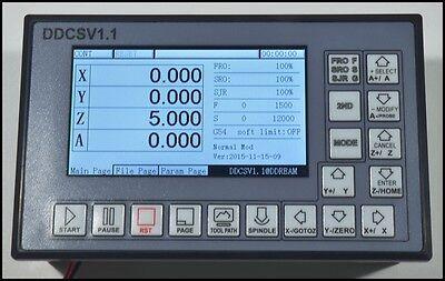 CNC 4-Axis Motion Controller Stepper Motor Driver DDCSV1.1+MPG Handwheel 5
