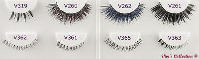 5 Pairs False Eyelashes Long Thick Natural Fake Eye Lashes Set Mink Makeup UK