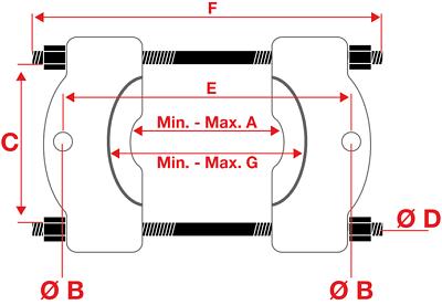 BGS Trennmesser Kugellager 29-168 mm Lager Kugelgelenke lösen trennen Trenner