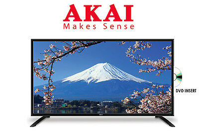 "AKAI 24"" INCH FULL HD LED TV w/ BUILT IN DVD PLAYER/PVR 2 YR WARRANTY BRAND NEW! 3"