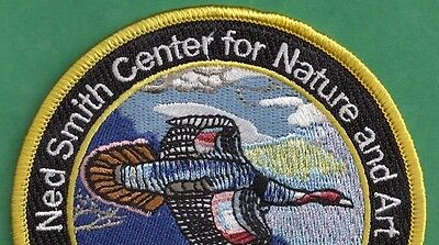 """Pa Pennsylvania Game Fish Commission Ned Smith 2013 Great Horned Owl 4/"""" Patch"""