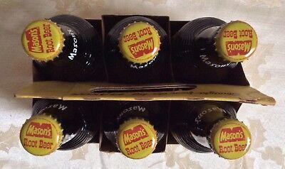 "Mason Root Beer Soda Pop Man Cave Metal Sign Repro 5x12/"" 60574"