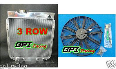4 Row Aluminum Radiator Fit 60-66 65 Ford Mustang Falcon Econoline Mercury Comet