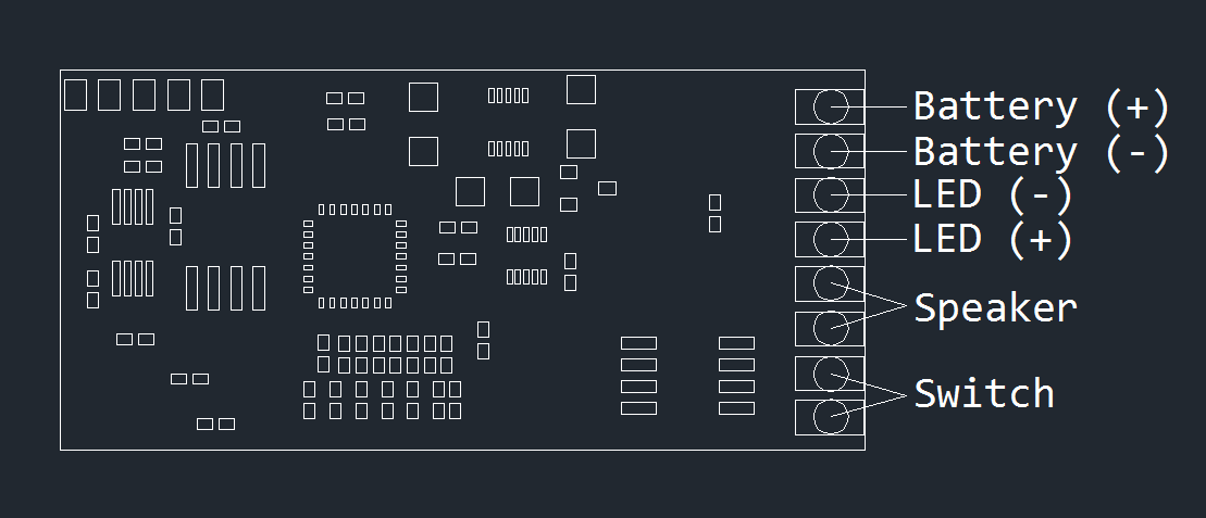 Lightsaber Controller Module - Sabercore Viridian and Crimson 2