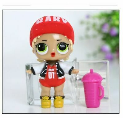 6 Pcs LOL Surprise Girls Dolls w/Accessory For Kids Party Toys Figures Gift Set 6