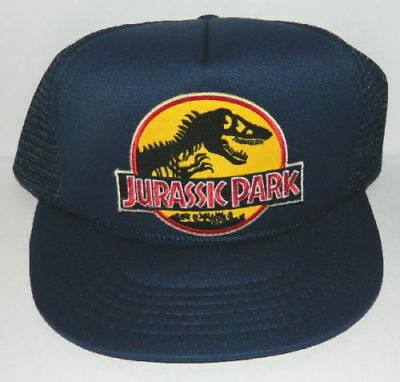Jurassic Park Movie Logo Embroidered Iron-On Deluxe Patch Yellow New Patch 4