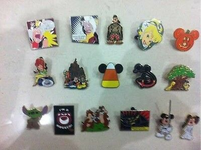 ~! 50 Mickey Disney Collectible Trading Pins Lot! 100% tradable HM LE CAST~! 7