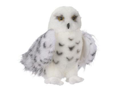 """Douglas Wizard SNOWY OWL Plush Toy 8"""" Stuffed Animal Hedwig Potter owl NWT 3"""